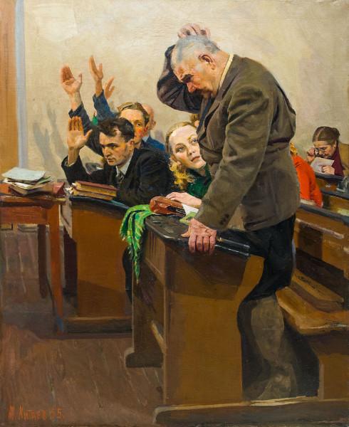 Китаев Ахмед Ибадуллович (1925 - 1996) «Урок».jpg