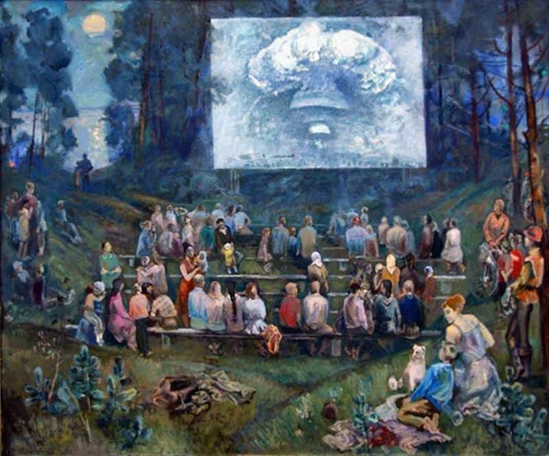 Лидия Давиденкова, «Войне - нет. В летнем кинотеатре» (1985)