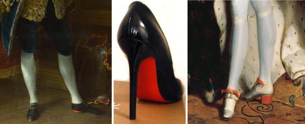 Красные каблуки
