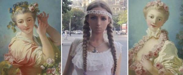 Фрагонаровские блондинки и Лера Лукьянова
