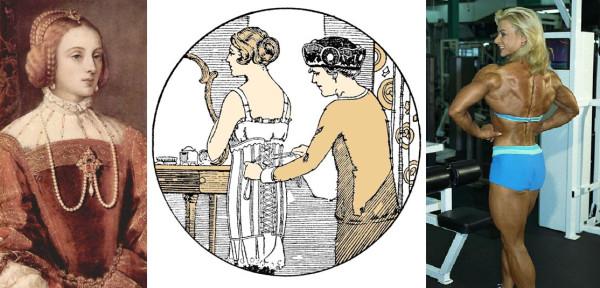 Тициан Изабелла Португальская, реклама 1919, культуризм