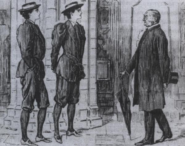Шокированный джентльмен 1899