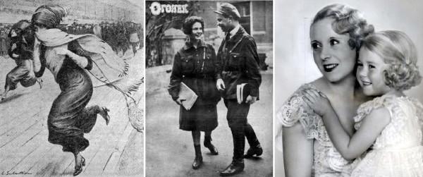 Jupe culotte  Огонёк 20-х и Барбара Картленд 30-х