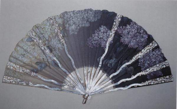 Веер Сирень Худож. Роно-Тютан 1895