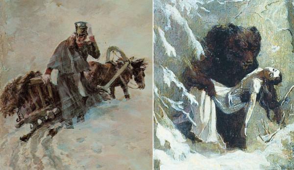 Пушкин Метель и Сон Татьяны