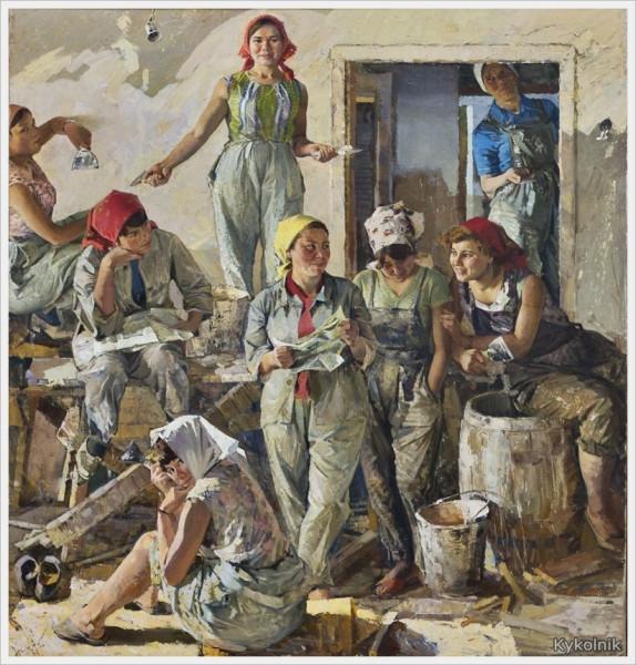 Карачарсков Николай Прокофьевич «Россия, о нас пишут» 1969