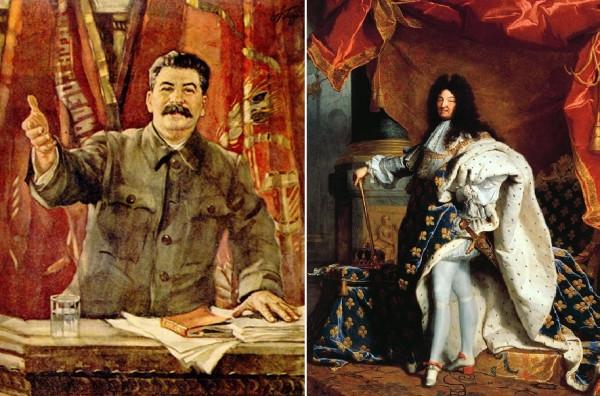 Сталин и Людовик