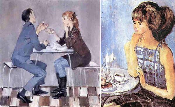 Картины Пименова