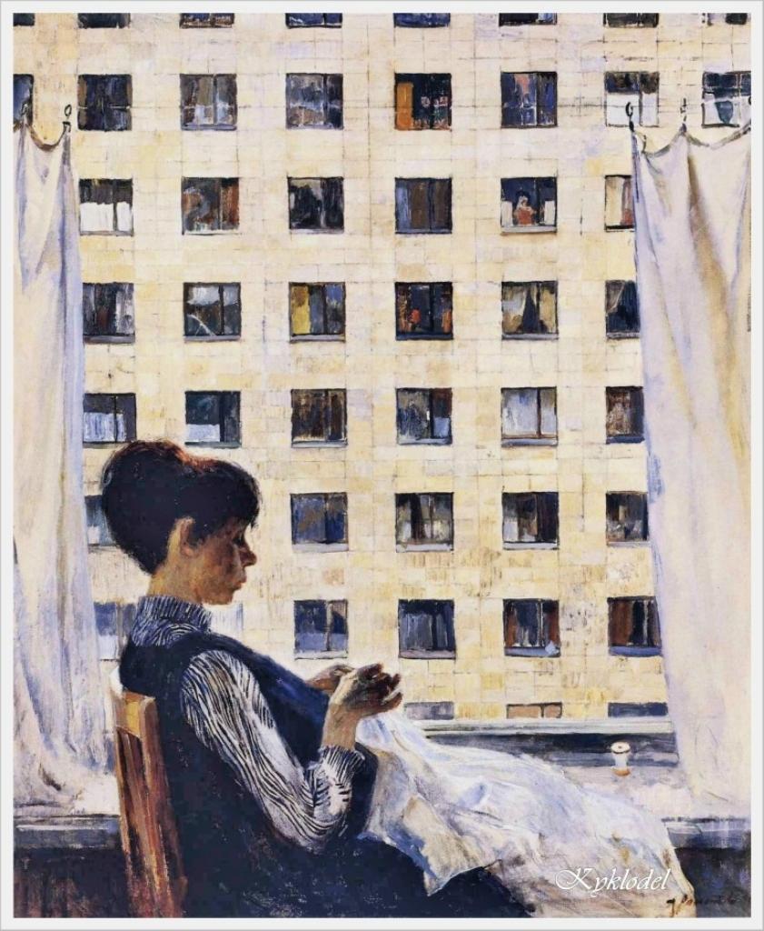 Романычев Александр Дмитриевич (Россия, 1919 – 1989) «У окна»