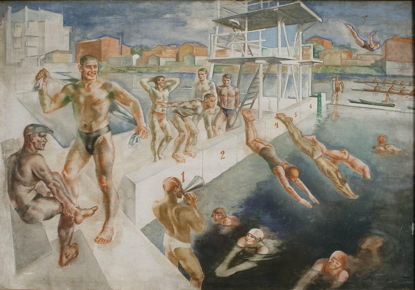 Луппов С.М. Водная станция. 1937
