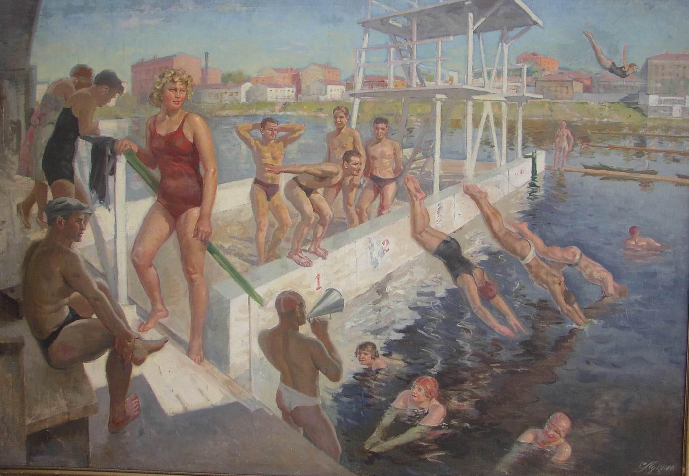 Луппов С.М. Водная станция. 1937-1