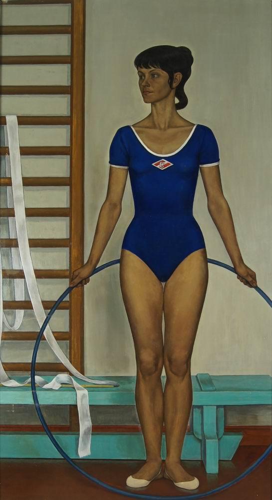 Чекмасов В.С. Люся Косюк – многократная чемпионка Карелии. Из серии «Мои герои». 1973–1974