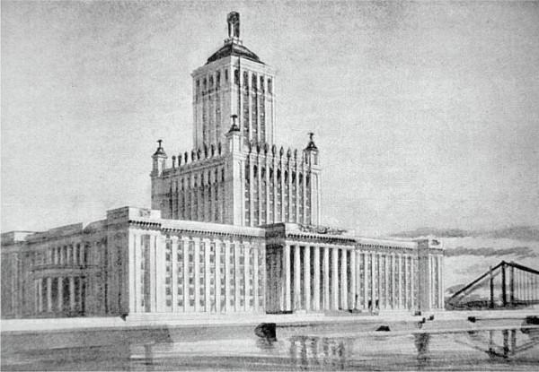 А.Щусев Академия Наук на Крымском валу