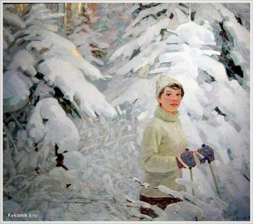 Белых Алексей Павлович (Россия, 1923) «Зимняя сказка» 1963