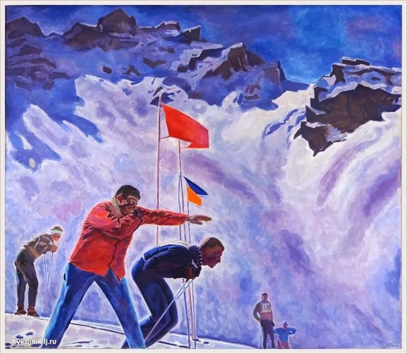 Павлов Юрий Сергеевич (Россия, 1932) «На старте» 1961–1962