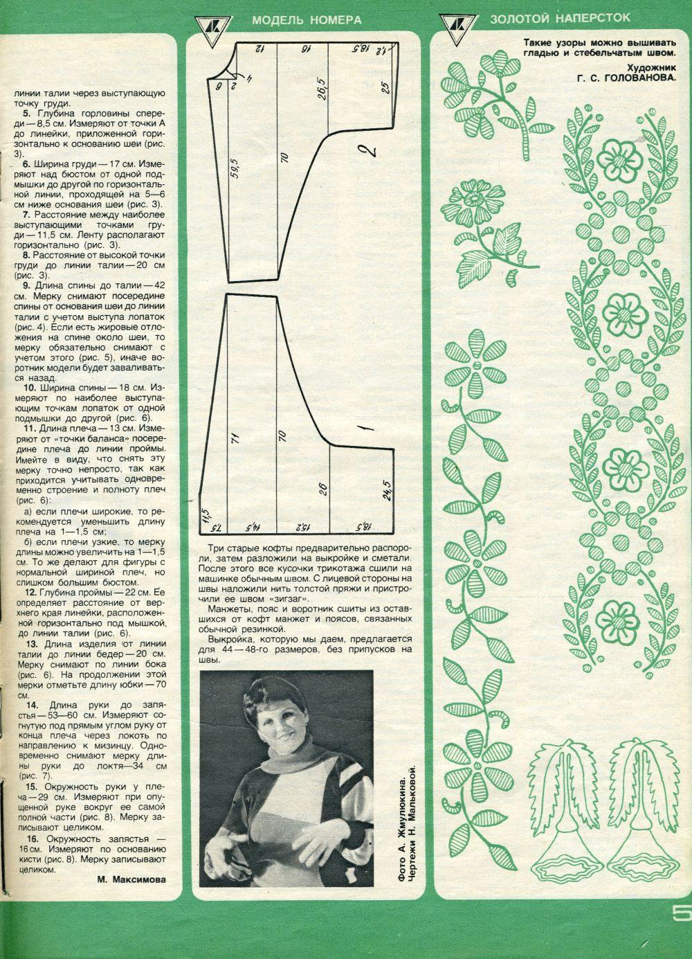 «Работница», 1985 год, № 1,1
