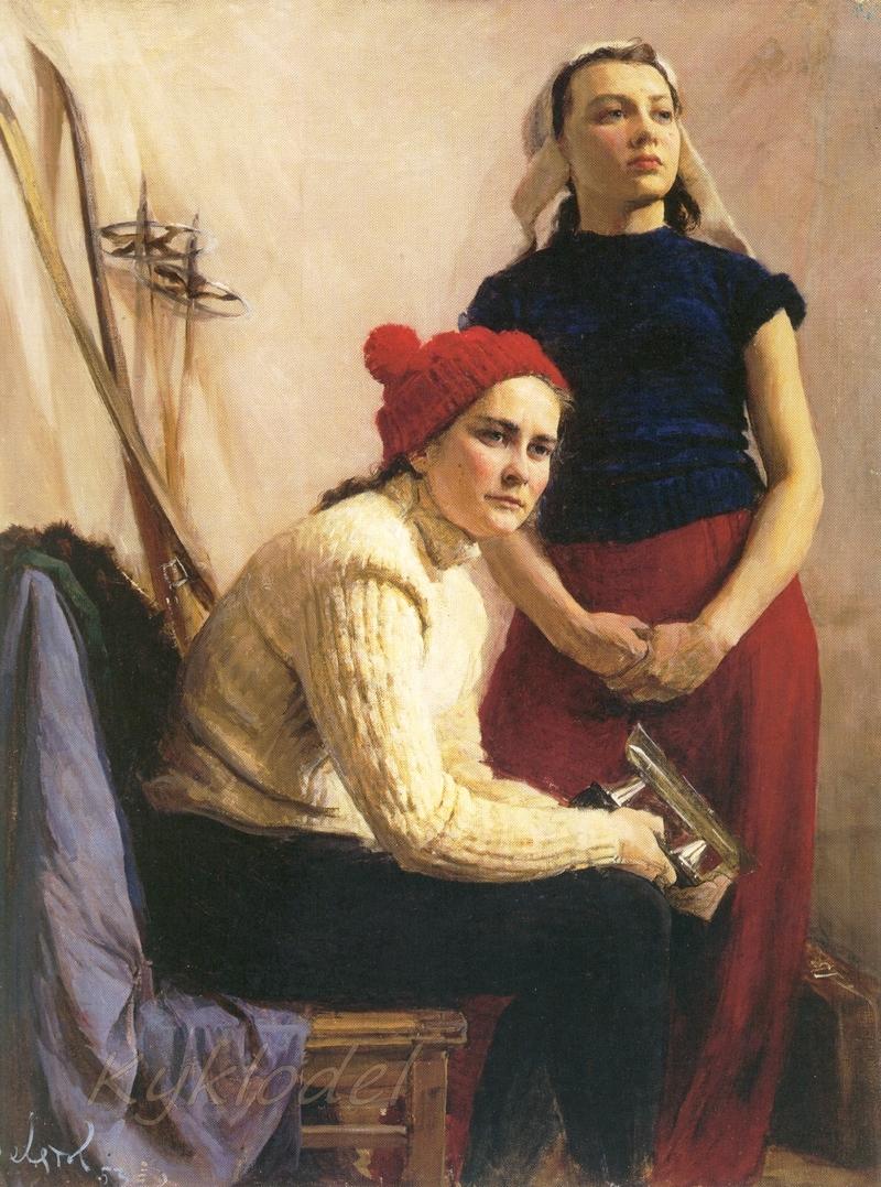 Девятов Михаил Михайлович (род. 1928) «Спортсменки» 1953