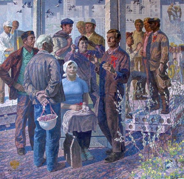 А. Курнаков. Утро Красной субботы. (1983-85).jpg