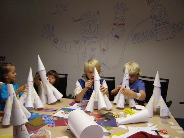 Оформление мастер класса для детей