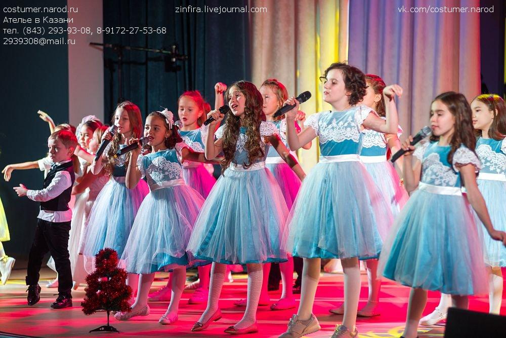 пошив сценических платьев для девочек
