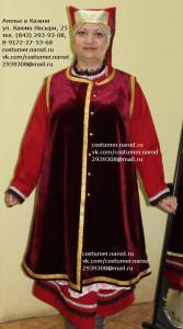 Женские кряшенские костюмы