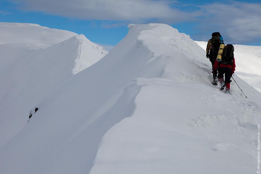 Чорногора, зимова прогулянка