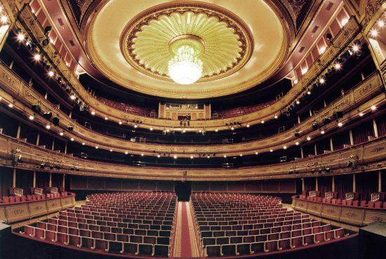 Театр Сарсуэлы зал