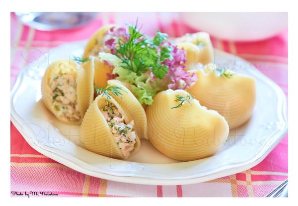лумакони с лососем2