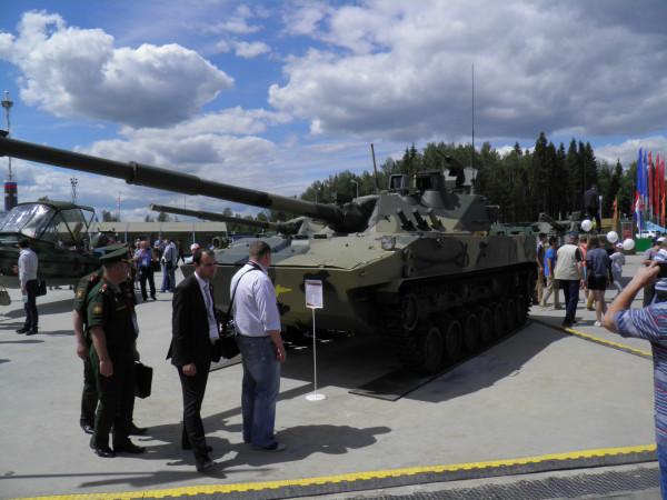 Авиадесантируемая противотанковая пушка 2С25М Спрут-СДМ1