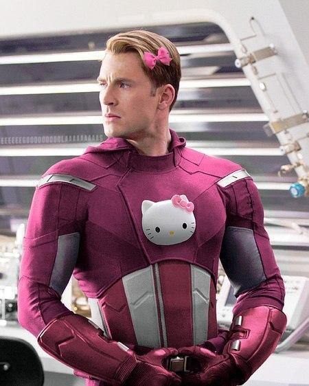 Капитан Америка уже не тот(с)не моё