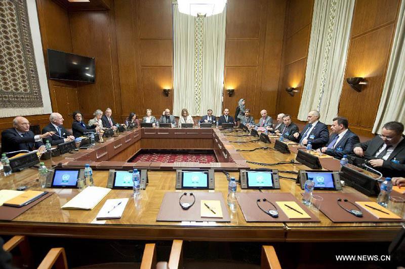 Зал переговоров в Женеве(с)