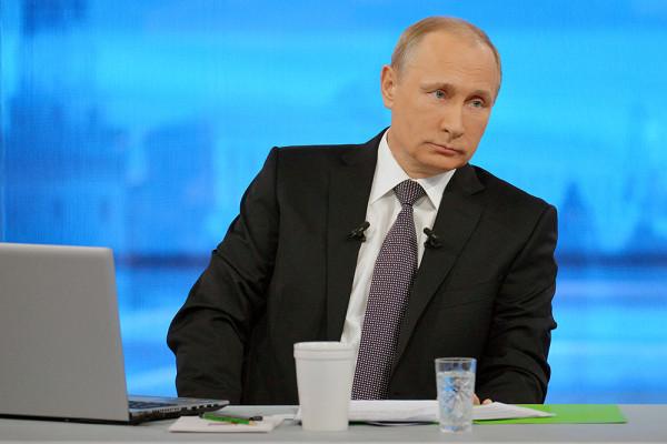 В.В.Путин.Фото с сайта Газета.ру