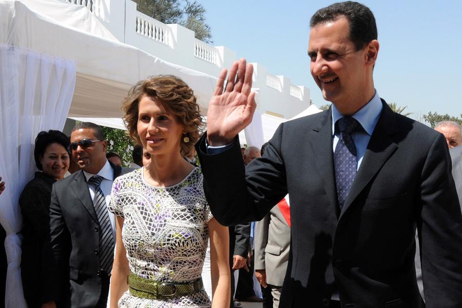Асма и Башар Асады
