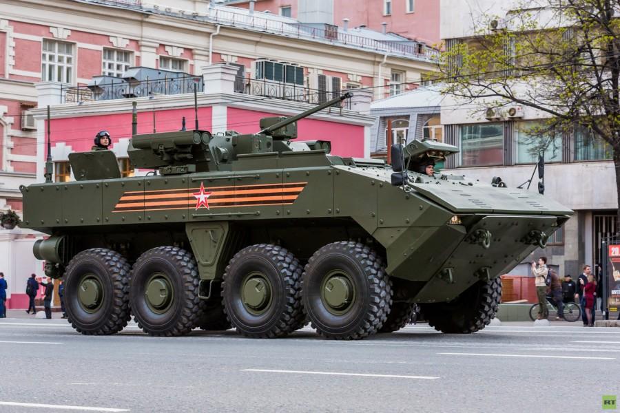 БТР Бумеранг на Параде 9 мая в Москве