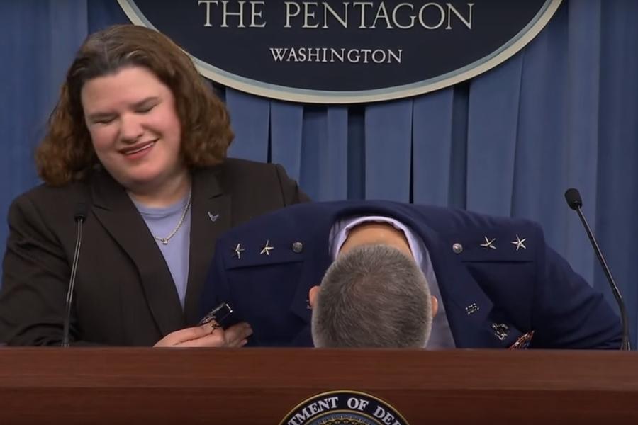 Американский генерал реагирует на вопрос о цене Ф-35