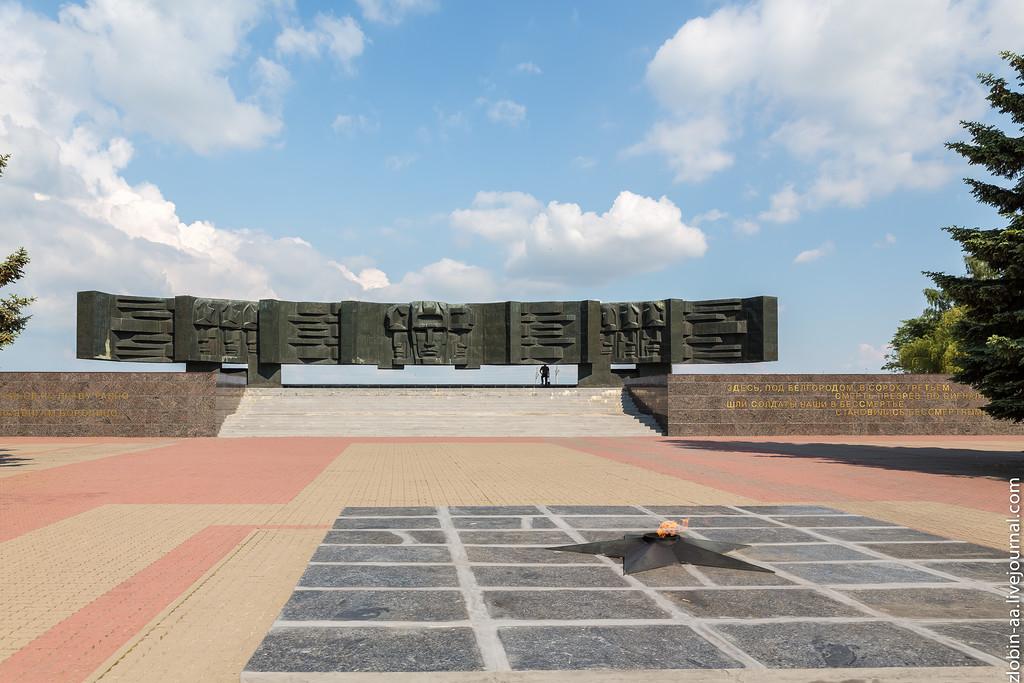 курская дуга фото мемориал введенском храме