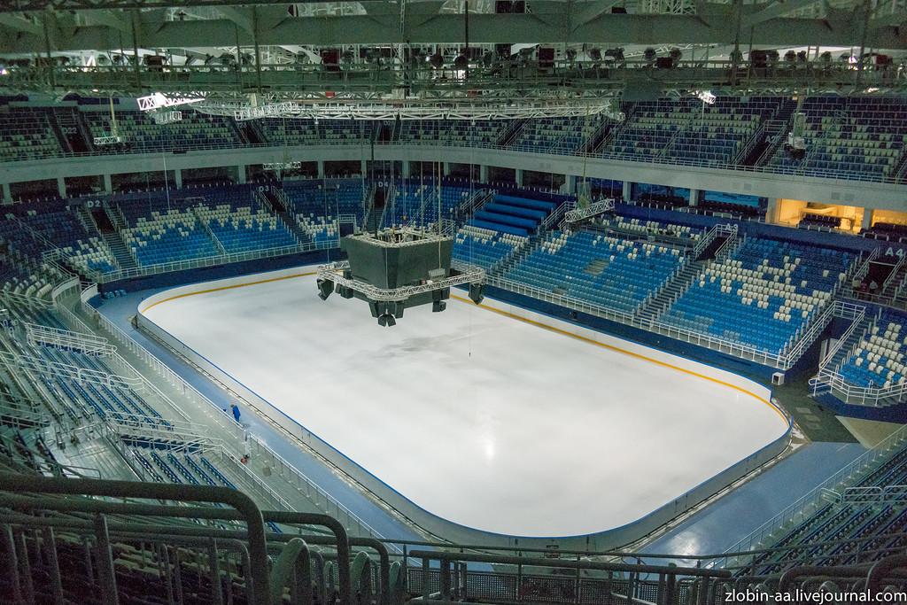 Блог-тур в Сочи. Ледовый дворец