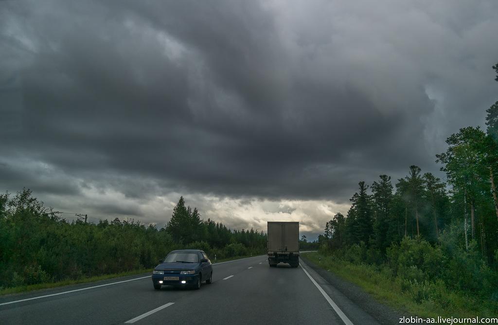 Автодорога Нижневартовск-Сургут