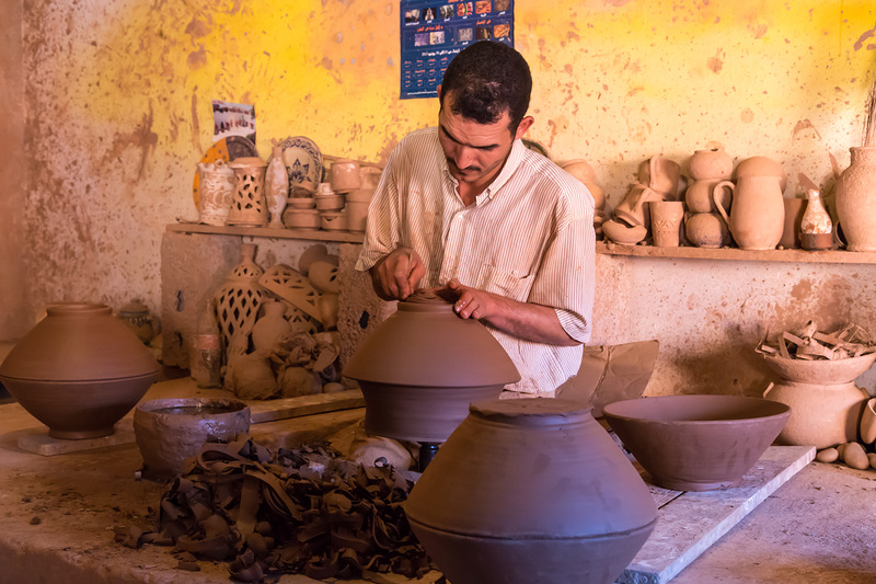 Гончарное производство в Марокко