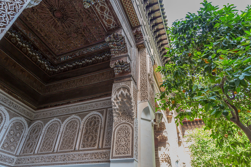 Дворец Бахия, Марракеш, Марокко