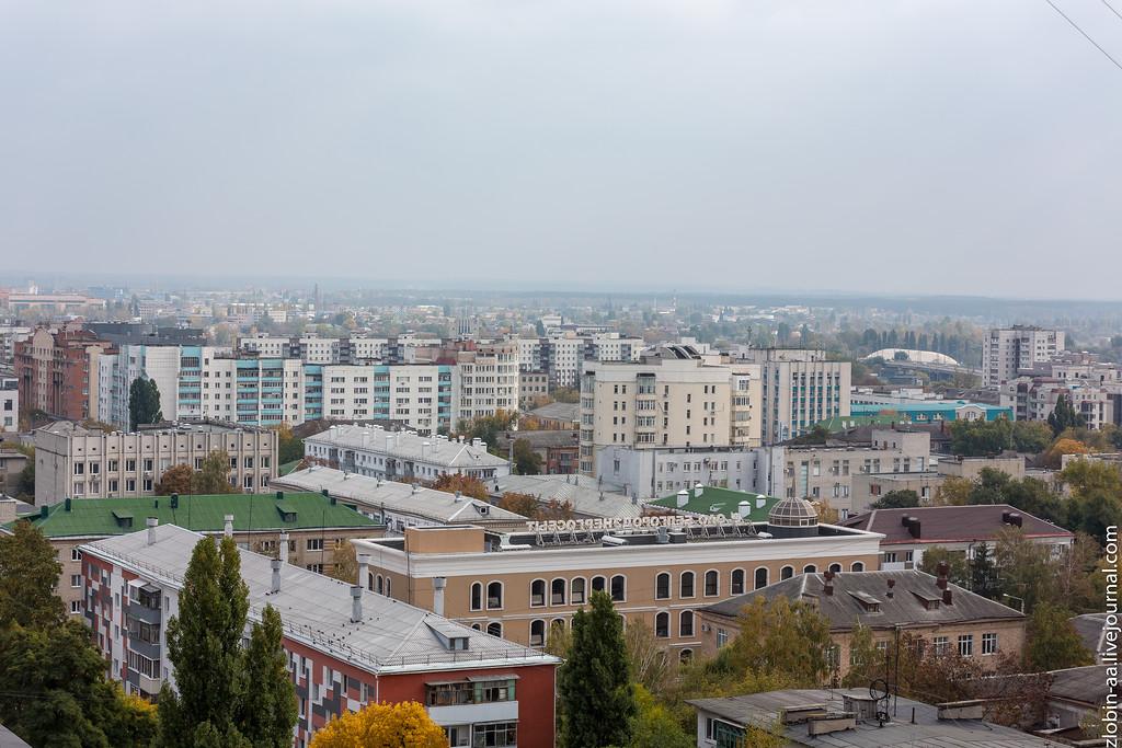 Белый город с высоты