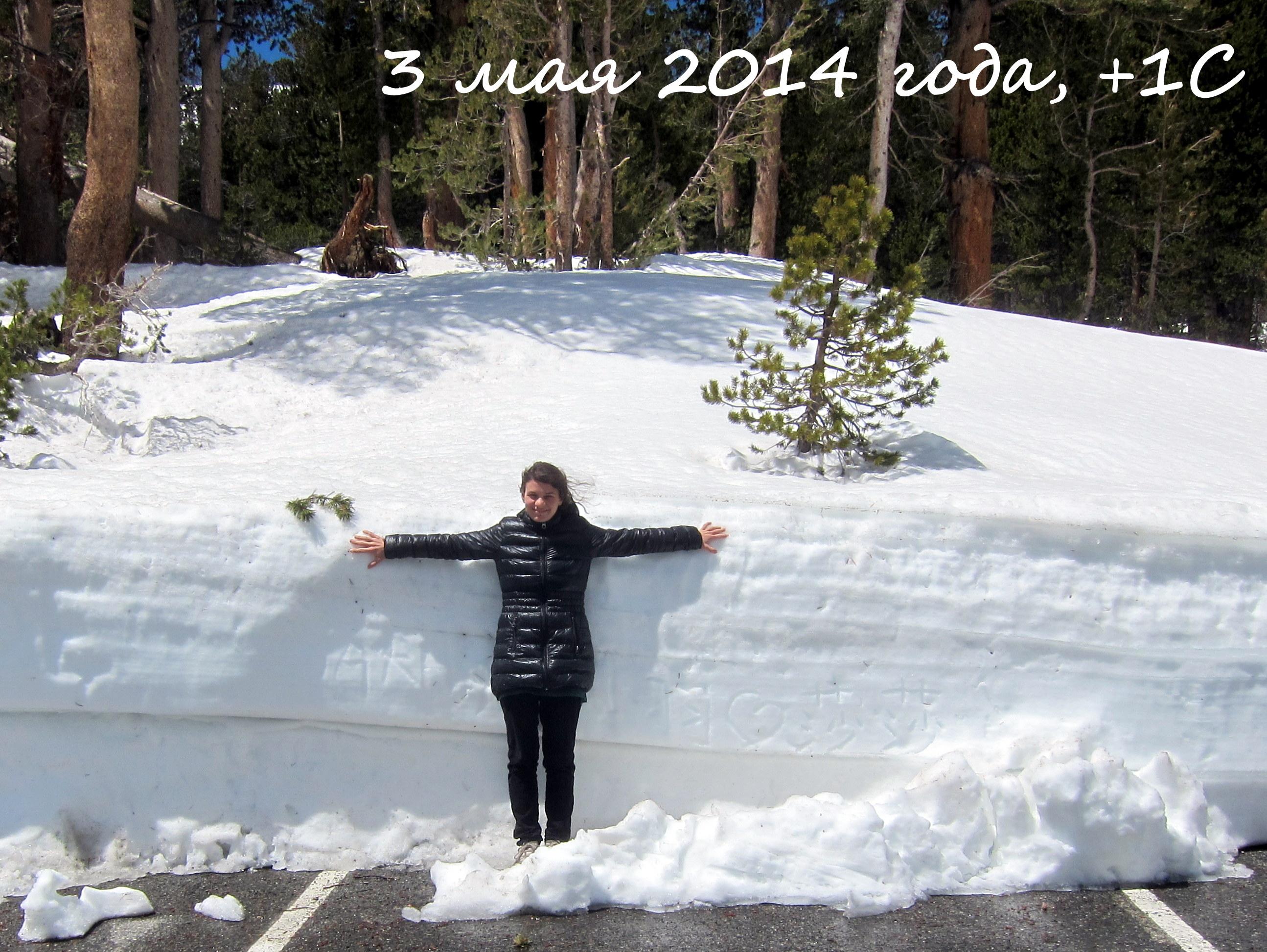 снежочек в Йосемитах
