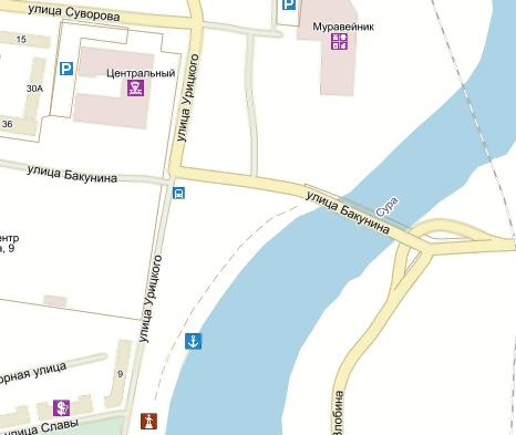 карта урицкого