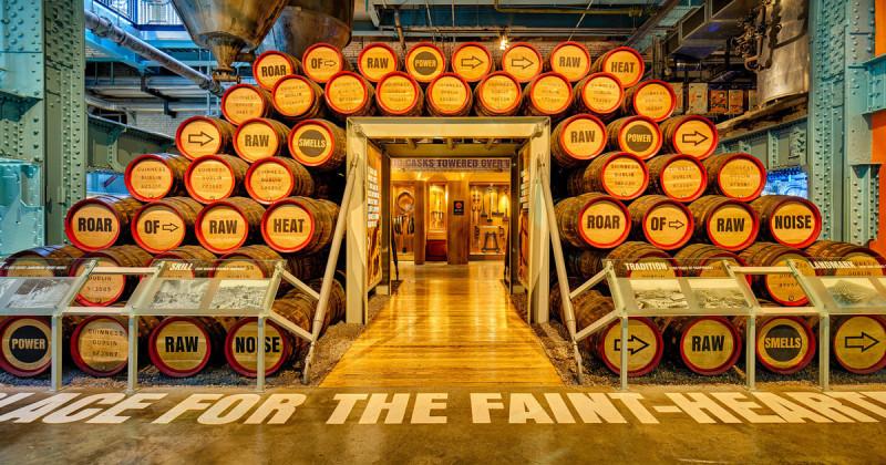 Музей пива Гиннесс, Дублин, Ирландия