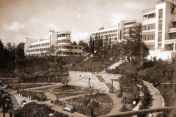 Сочи. Санаторий им. Ворошилова в 1930-е годы...
