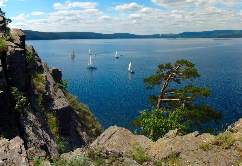 Озеро Тургояк, Южный Урал, Челябинская область