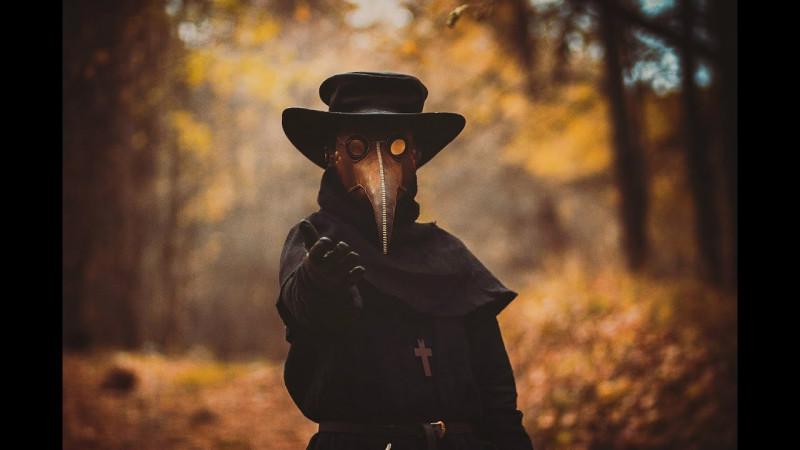 Чумной доктор — по мотивам гравюры Средних веков времен пандемии чумы...