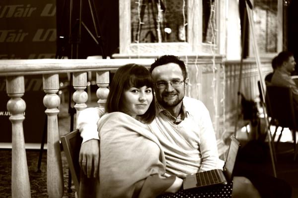 Нияз Аксанов с супругой Ксенией