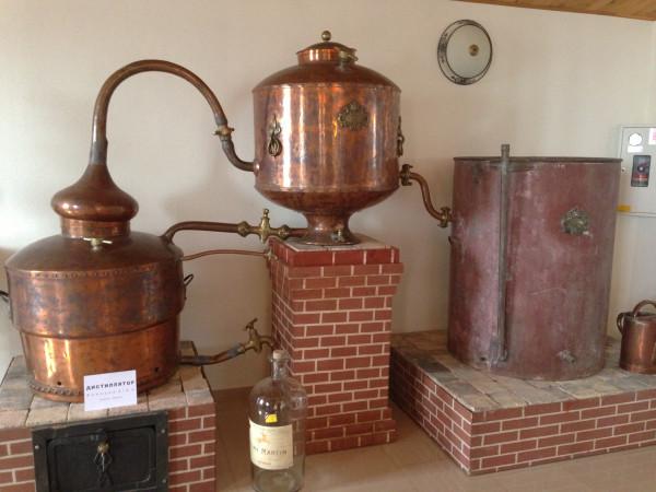Экспонат музея вина Лефкадия