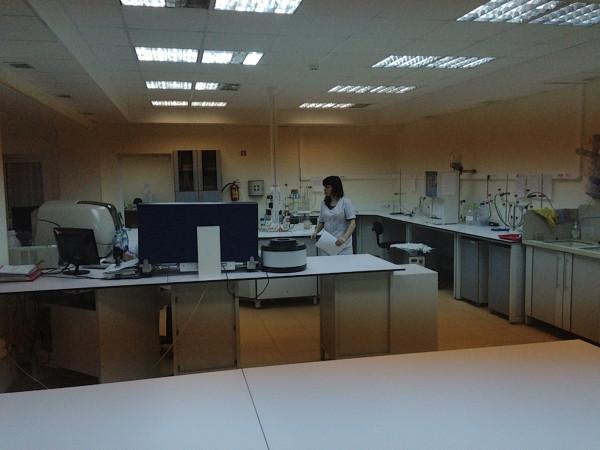 Лаборатория завода Лефкадия